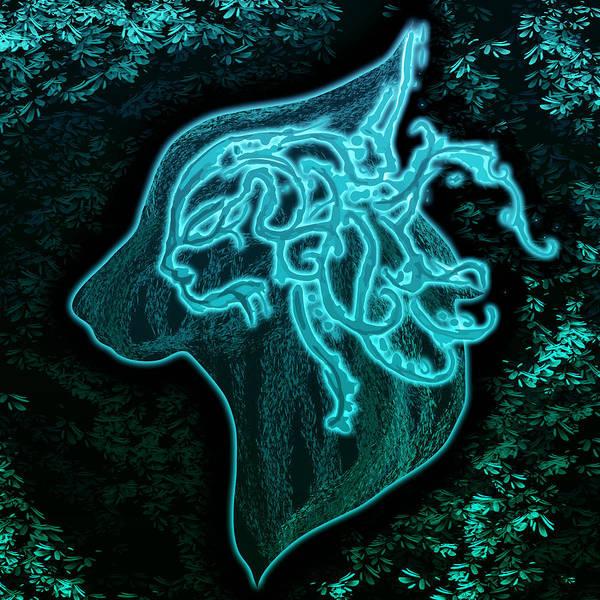 Wall Art - Digital Art - Wolf Spirit by Mellisa Ward
