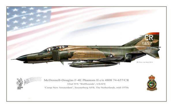 Mcdonnell Douglas Digital Art - Wolfhound Phantom by Peter Van Stigt