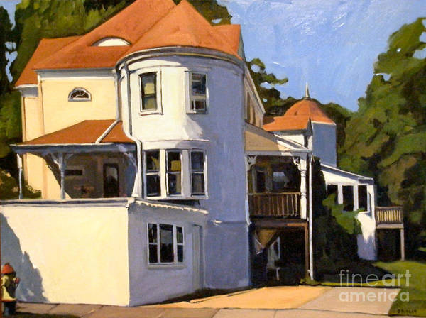 Painting - Wollaston by Deb Putnam