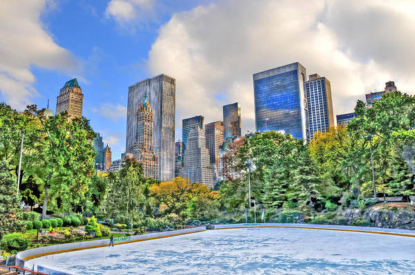 Wall Art - Photograph - Wollman Rink In Central Park by Randy Aveille