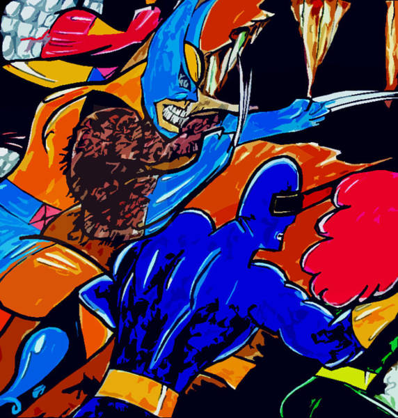 Wolverines Drawing - Wolverine -x-men  by Jazzboy