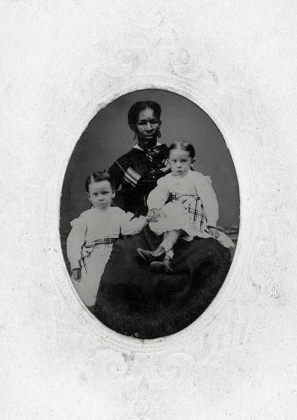 Painting - Woman And Children, C1865 by Granger