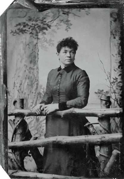 Photograph - Woman, C1890 by Granger