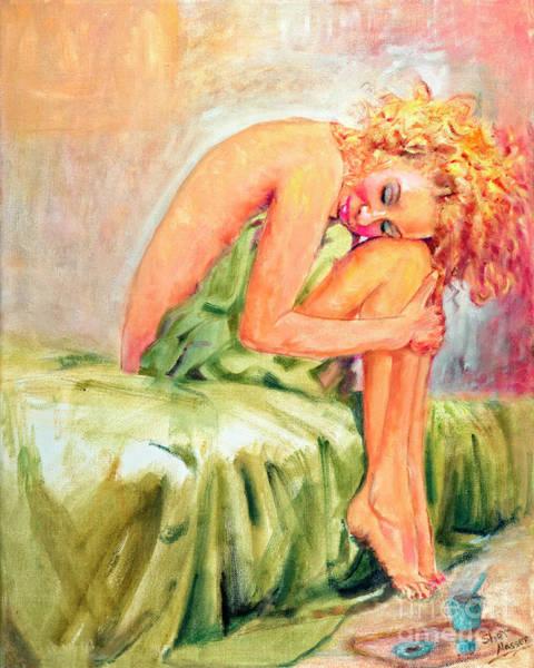 Woman In Blissful Ecstasy Art Print