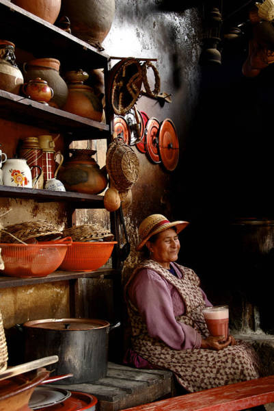 Photograph - Woman In Chicheria by Owen Weber