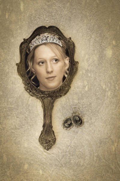 Image result for tiara woman in mirror
