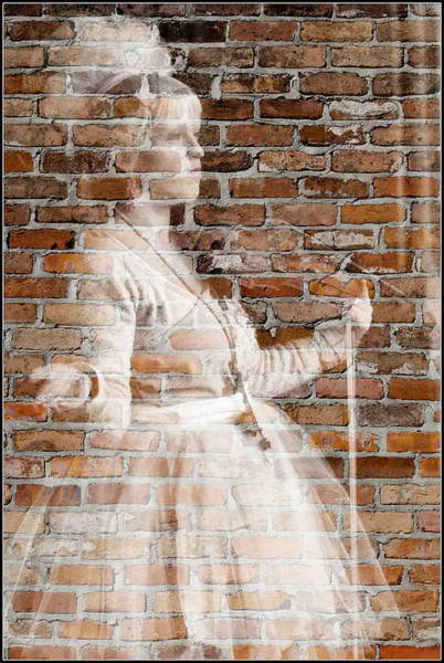Photograph - Woman In The Bricks by Alice Gipson