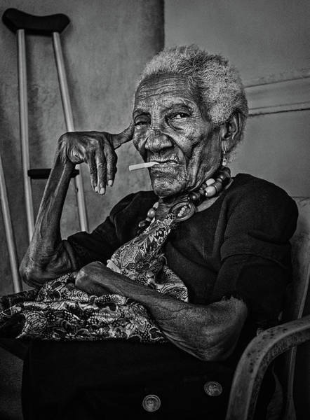 South American Photograph - Woman Of Cartagena by Paul Gs