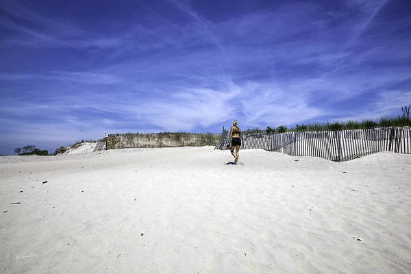 Wall Art - Photograph - Woman On The Beach by Madeline Ellis