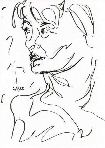 Drawing - Woman by Rachel Scott
