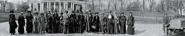 Delegation Photograph - Womans Christian Temperance Union by Fred Schutz Collection