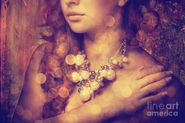 Photograph - Woman's Decollete by Jelena Jovanovic