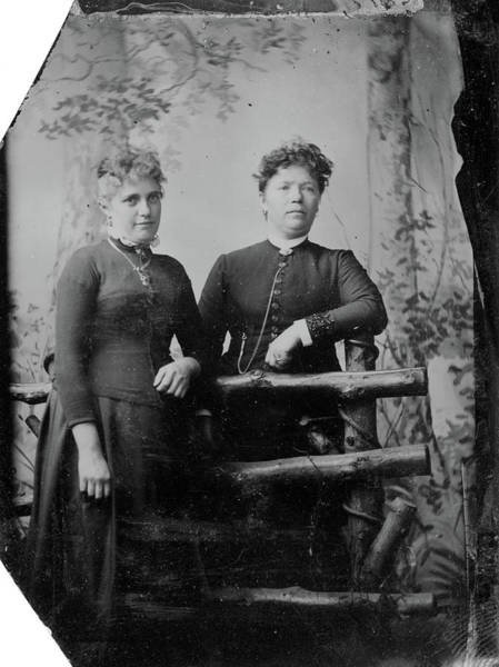 Photograph - Women, C1880 by Granger