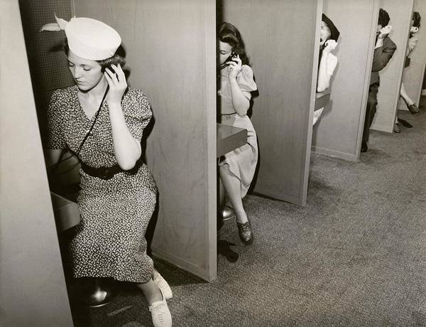 Public Speaker Photograph - Women Taking Hearing Tests by New York World's Fair/new York Public Library