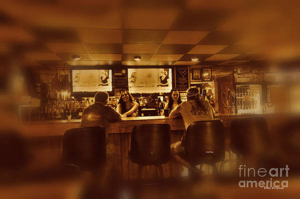 Photograph - Women Talking To Men In Bar by Dan Friend