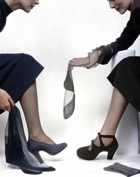 Wall Art - Photograph - Women Wearing High Heels by Frances McLaughlin-Gill