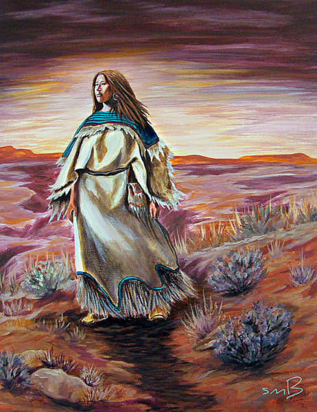 Bergstrom Painting - Women Who Run With Wolves by Susan Bergstrom