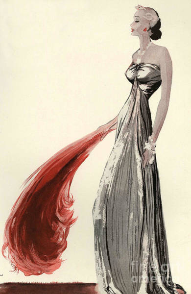 Nineteen-thirties Wall Art - Drawing - Women�s Fashion 1930s 1939 1930s Uk by The Advertising Archives