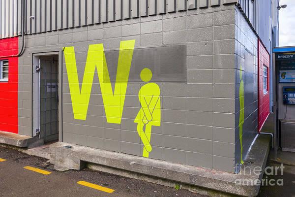 Wellington Photograph - Womens Public Toilet Wellington Nz by Colin and Linda McKie