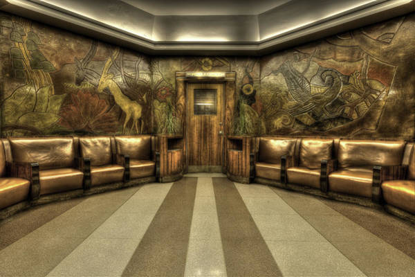 Photograph - Womens Restroom by Keith Allen