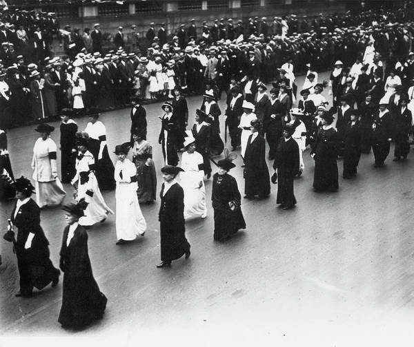 Photograph - Women's Rights, 1913 by Granger