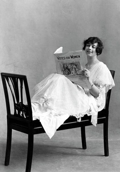 Paper Dress Photograph - Women's Rights, C1915 by Granger