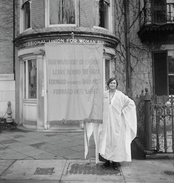 Wall Art - Photograph - Womens Suffrage, Circa 1910-1920 by Stocktrek Images