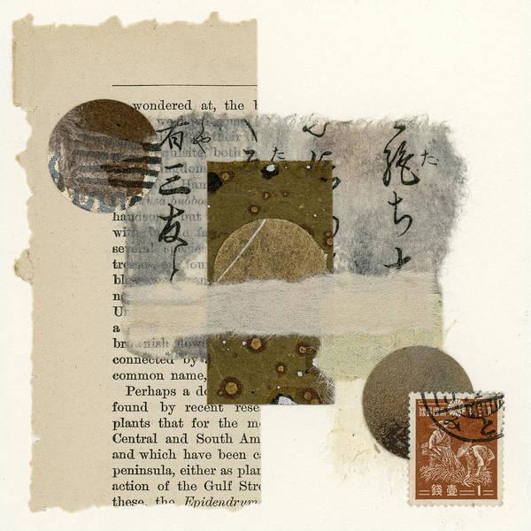 Wall Art - Mixed Media - Wondered At by Carol Leigh