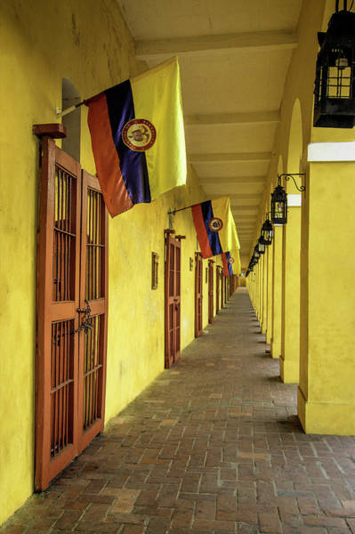 Cartagena Photograph - Wonderful Architecture In The San Diego by Jerry Ginsberg