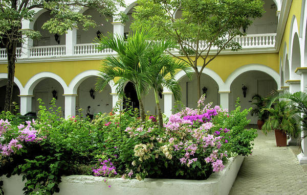 Cartagena Photograph - Wonderful Architecture Of The Venerable by Jerry Ginsberg