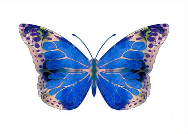 Digital Art - Wonderful Mysteries Abstract Butterfly Art By Omaste Witkowski by Omaste Witkowski