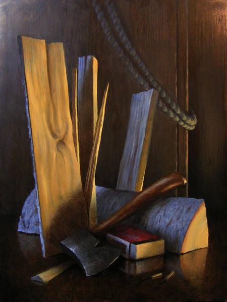 Wall Art - Painting - Wood Box by Timothy Jones