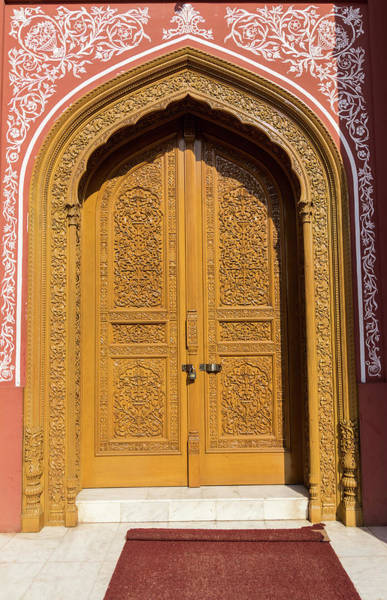 Handle Photograph - Wood Door by Bayri