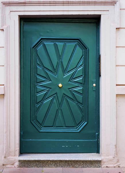 Luxury Hotel Photograph - Wood Door. House Door by Ewastudio
