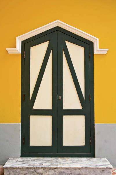 Handle Photograph - Wood Door by Paday