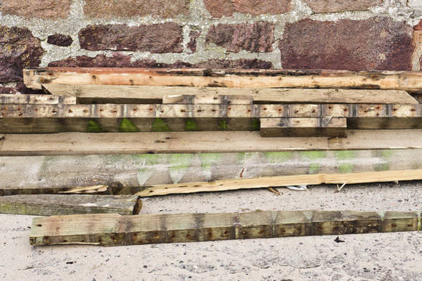 Condition Wall Art - Photograph - Wood Planks by Tom Gowanlock