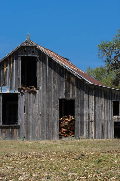 Photograph - Wooden Barn Doorways by Ed Gleichman