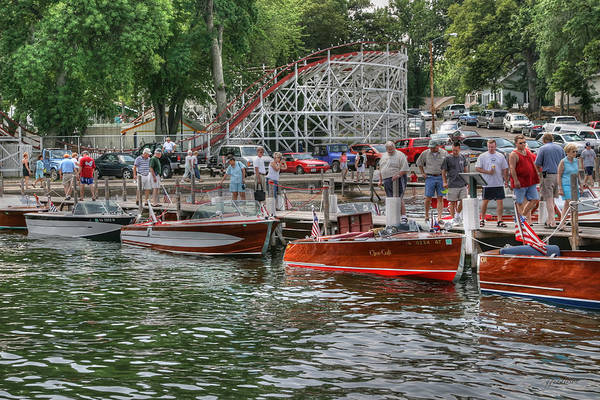 Photograph - Wooden Boat Show by Gary Gunderson