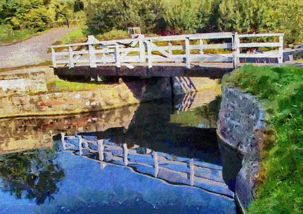 Digital Art - Wooden Bridge by Paul Gulliver