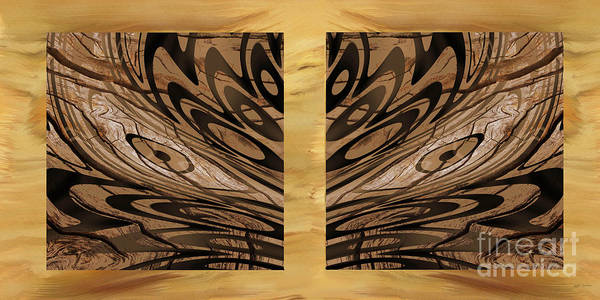 Wall Art - Photograph - Left And Right Brown Eyed Digital Art  by Heinz G Mielke