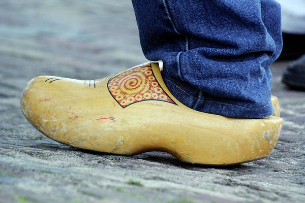 Wooden Shoe Photograph - Wooden Clog by Chris Martin-bahr/science Photo Library
