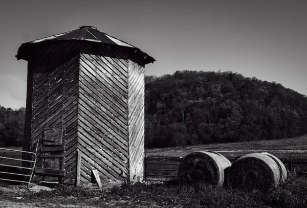 Photograph - Wooden Corn Crib by Thomas Young