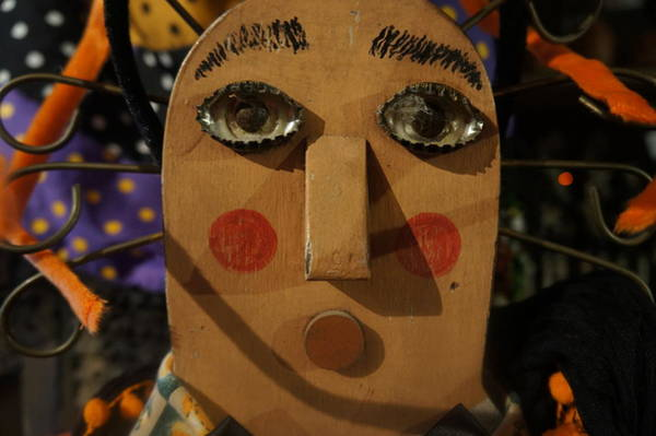 Photograph - Wooden Face by Artistic Panda