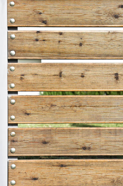 Metal Furniture Photograph - Wooden Fence by Tom Gowanlock