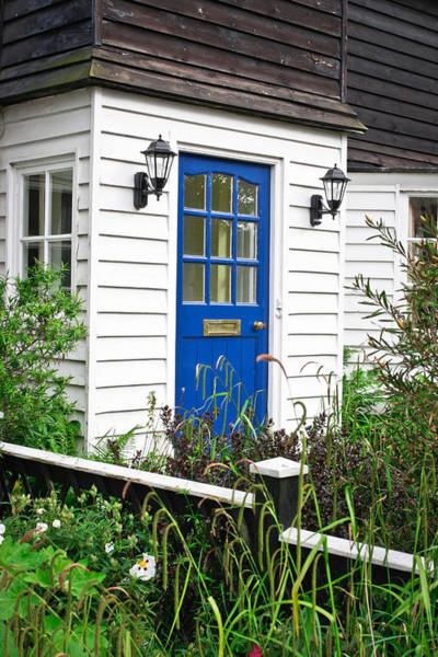 Door Photograph - Wooden House by Tom Gowanlock
