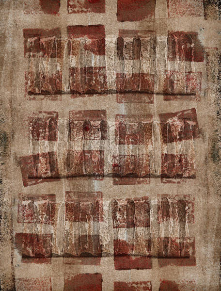 Earth Tones Photograph - Wooden Paper by Carol Leigh