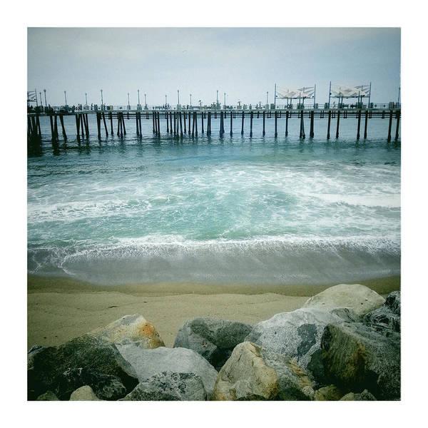 Surf City Usa Photograph - Wooden Pier Of Redondo Beach by Ixefra