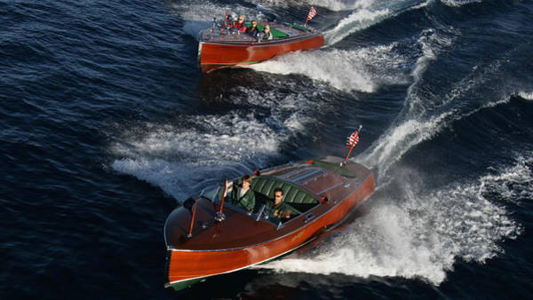 Photograph - Wooden Runabouts by Steven Lapkin