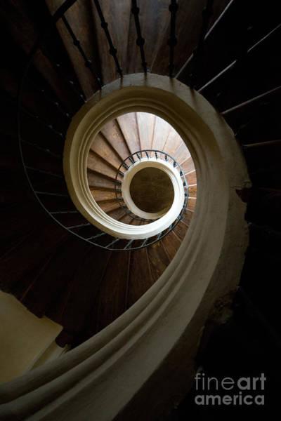 Photograph - Wooden Spiral by Jaroslaw Blaminsky