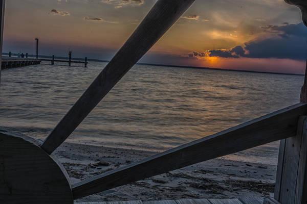 Wall Art - Photograph - Wooden Sunset by Ryan Crane